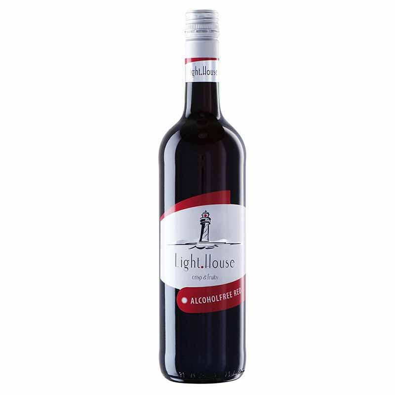 Безалкогольное красное вино полусладкое Light House Петер Мертес