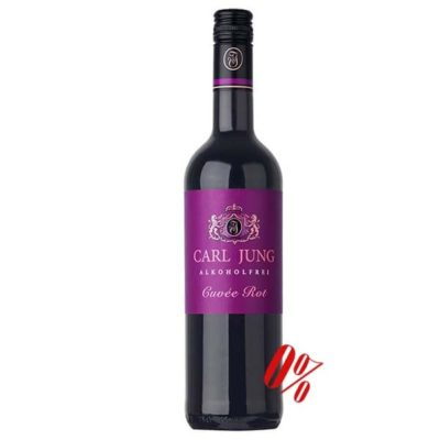 Купить Безалкогольное вино красное двухсортовое Карл Юнг (Carl Jung) Modern Style