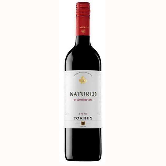 купить Натурео безалкогольное красное сухое вино