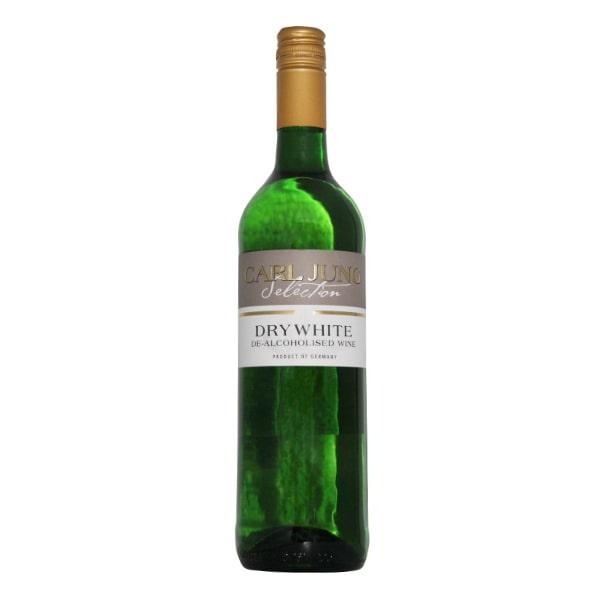 Безалкогольное вино сухое белое Dry White Carl Jung купить цена