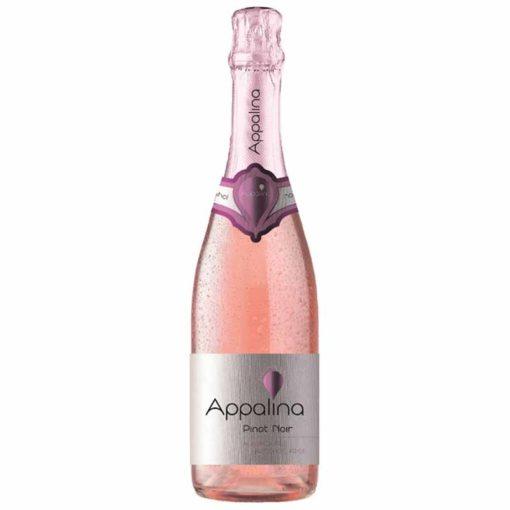 Купить Безалкогольное шампанское Пино Нуар (Pinot Noir) Appalina розовое