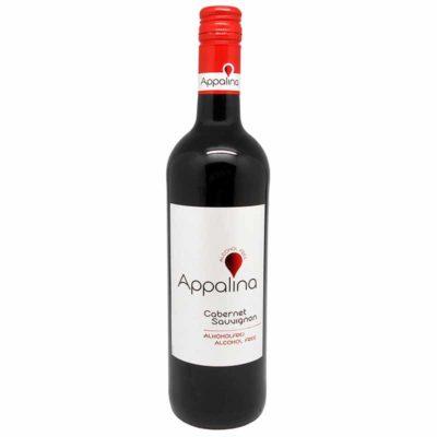 Купить красное безалкогольное вино Каберне Совиньон полусладкое с доставкой по Украине