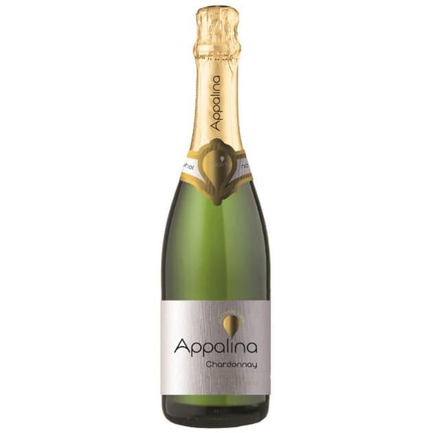 Безалкогольное шампанское Шардоне полусладкое Appalina