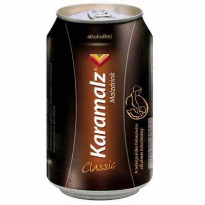 """Безалкогольное пиво """"Karamalz"""" Classic, in can, 0,33 л Германия (Карамальц Классик, в жестяной банке)"""