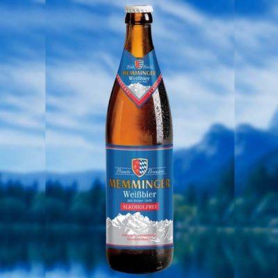 Купить Безалкогольное пиво Memminger пшеничное, Германия, 0,5 л