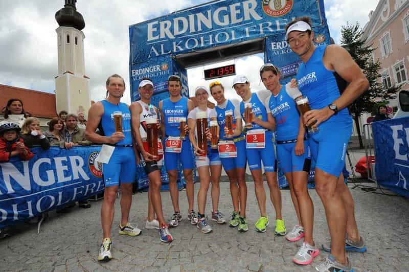 Безалкогольное пиво и спорт, безалкогольное пиво помогает тренировкам
