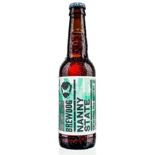 Купить Безалкогольное пиво BrewDog Nanny State (БрюДог Нэнни Стэйт), 0.33 л, Шотландия