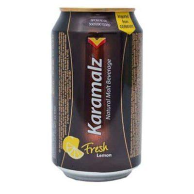 Темное безалкогольное пиво Karamalz Fresh Lemon купить цена