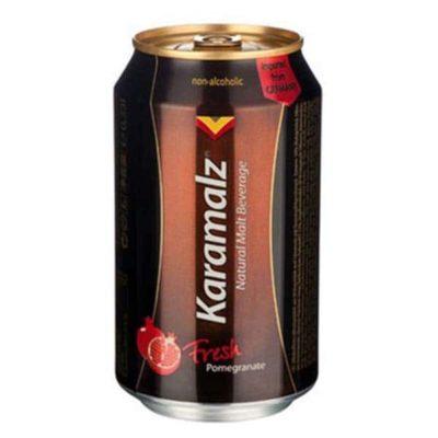 Темное безалкогольное пиво Karamalz Fresh Pomegranate купить цена