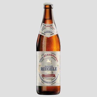 Купить Безалкогольное пиво Riegele Hell Alkoholfrei пшеничное светлое, Германия, 0,5 л
